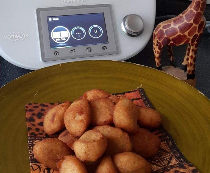 Rezept Afrikanische Bananen Bällchen von skabrio - Rezept der Kategorie Desserts