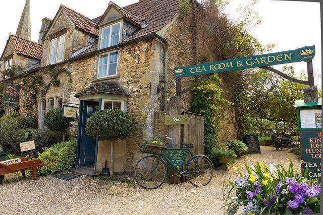 Lacock, Wiltshire, England, King John's Hunting Lodge Tea Room