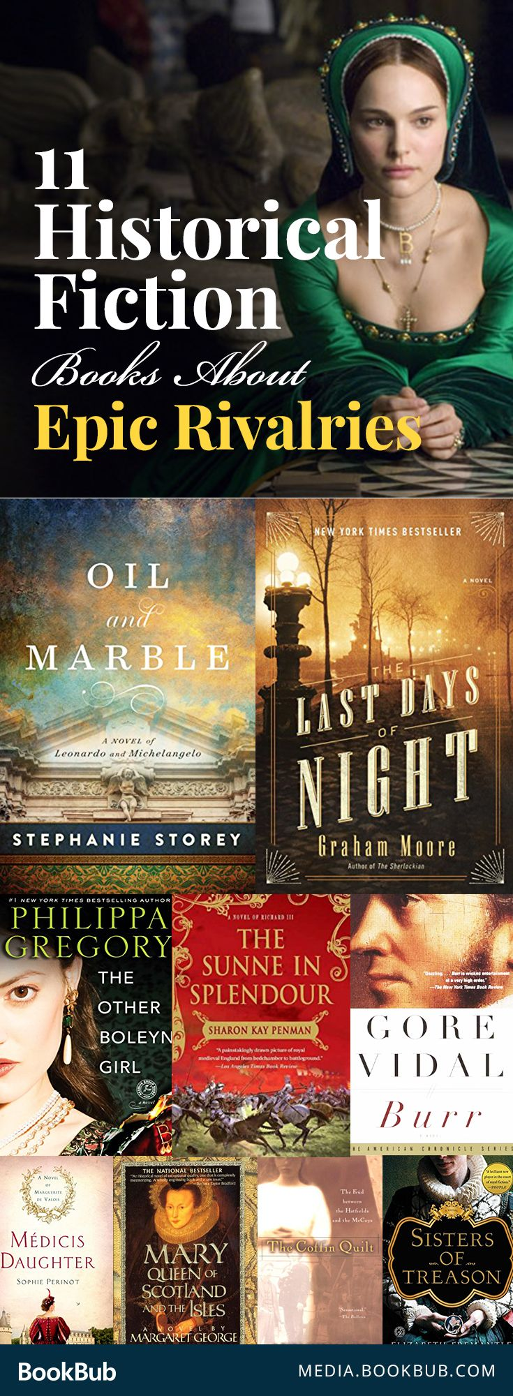 11 Historical Fiction Books About Epic Rivalries