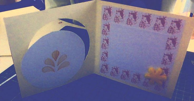 HOMEMADE card/kaart binnenkant (zie vorige)