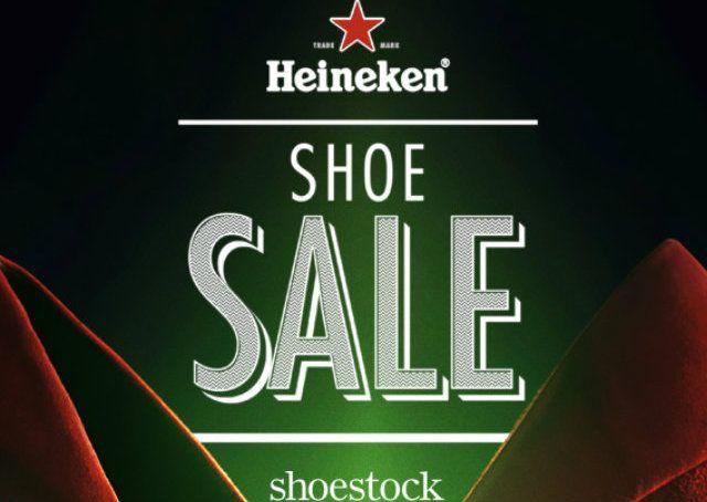 Heineken cria liquidação de sapatos femininos na final da Champions League