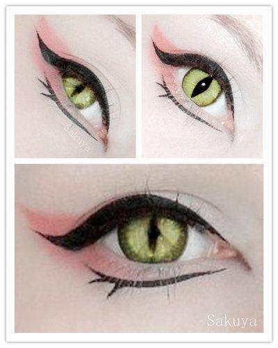 Fox eyes by Sakuyaa