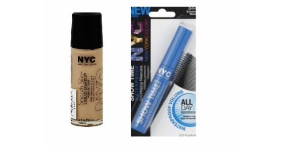 $1.50/2 NYC Cosmetics Coupon and Kmart Deals!