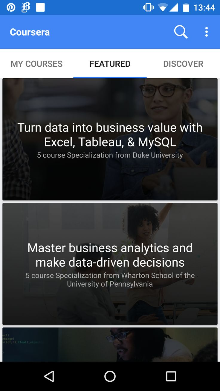 Android: Coursera