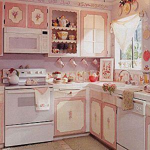 sweet cottage kitchen ...