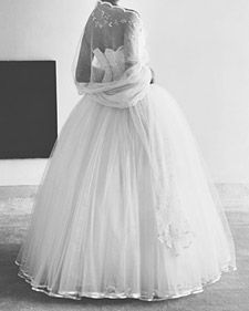 You Gotta Love A '50s Bride... :  wedding vancouver wedding dress Mlw55s
