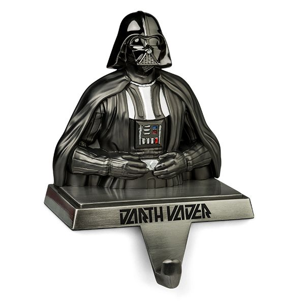 Darth Vader Stocking Holder Is The Sith Lord Protecting Your Gifts -  #darthvader #starwars #xmas