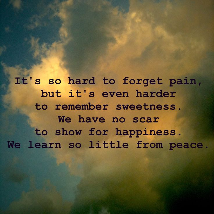 Chuck Palahniuk quote pain happiness memories scars