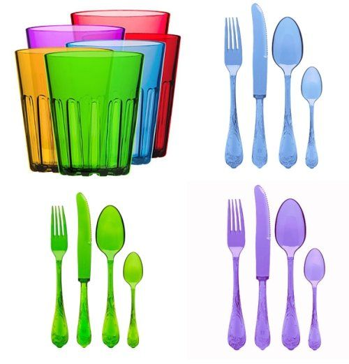 Obsessed. (Pandora Design deluxe disposable cutlery): Deluxe Disposable, Disposable Tableware, Knife Mold, Necessities Mold, Color, Spoon Mold, Plastic Disposable, Cup Mould