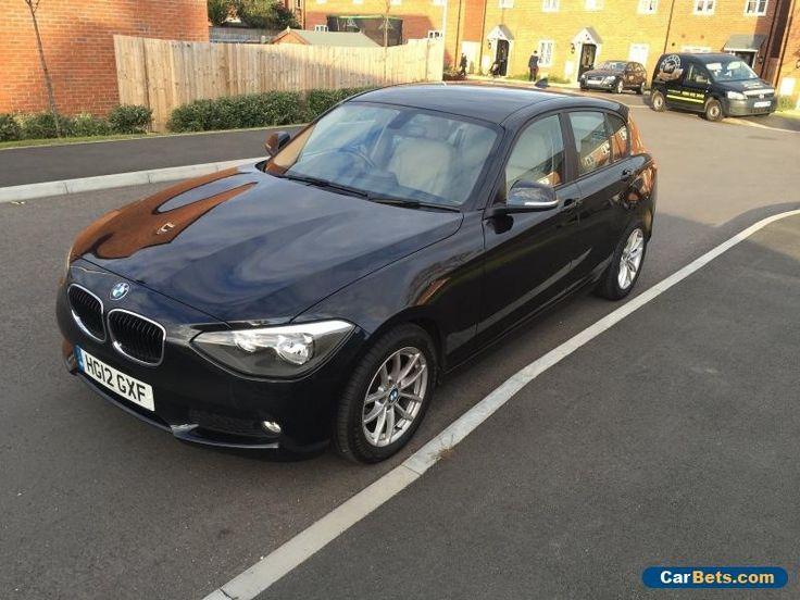 2012 BMW 116d EfficientDynamics Black 5 door! #bmw #116 #forsale #unitedkingdom