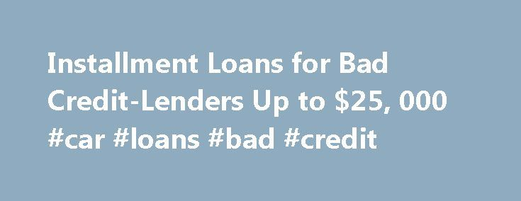 Best 25+ Loans for bad credit ideas on Pinterest