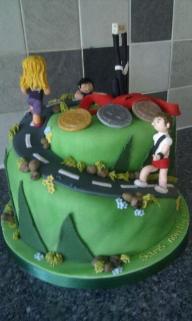 Birthday Cake For Runner Google Search Party Ideas