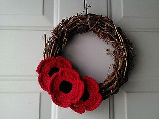 ~These poppies are meant to be used for decorative purposes only. Please continue to support our veterans by purchasing and wearing poppies distributed by your country's veteran legion.~