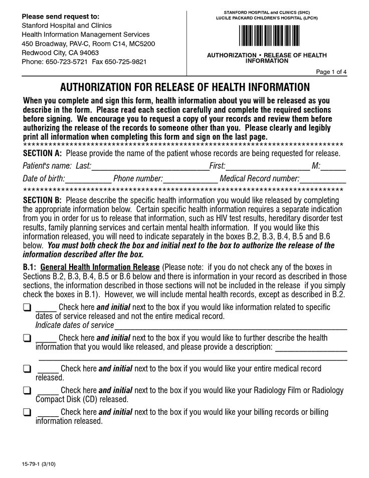 Hospital Release Form Pdf  Things