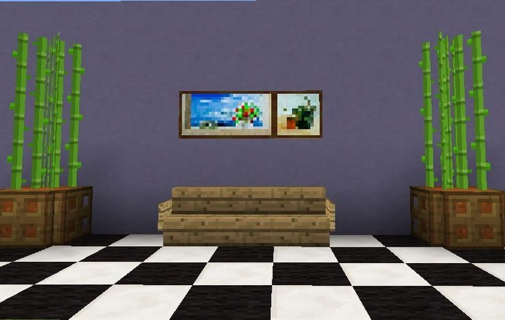 Living Room Ideas Minecraft Pe