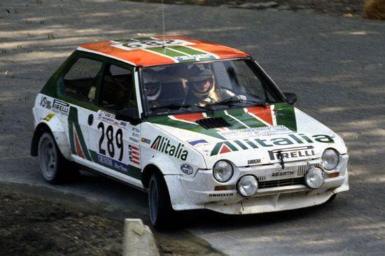 fiat ritmo 75 gr 2 Bettega Mannucci Giro d Italia 1979