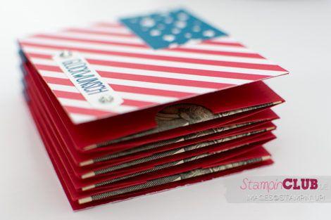 Stampin Up, Geldgeschenk, Minialbum, Teebeutelbuch, Money booklet