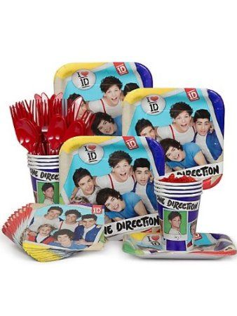 One Direction Party Pack Supplies