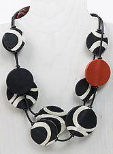 Mara Necklace by Klara Borbas (Polymer Clay Necklace)