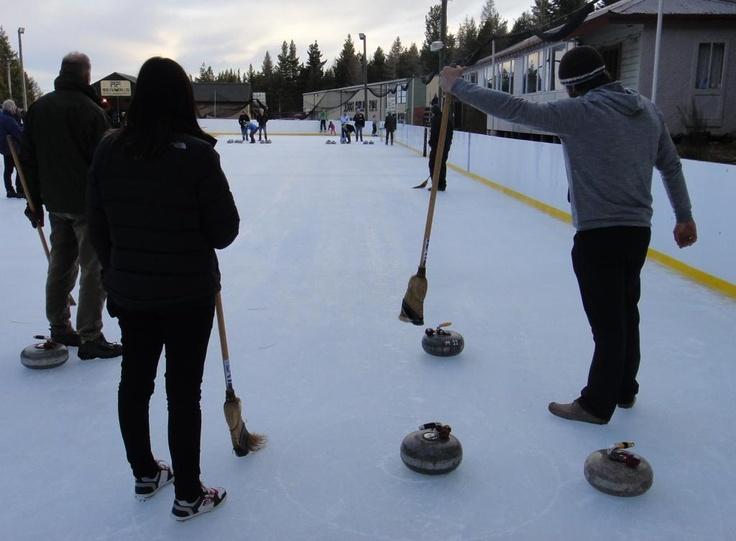Curling, Central Otago. A team sport... http://www.centralotagonz.com/winter-sports