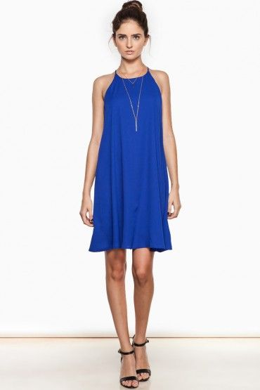 Eat Your Heart Out Dress in Cobalt   Dress up with heels or down with flats   Perfect summer dress!
