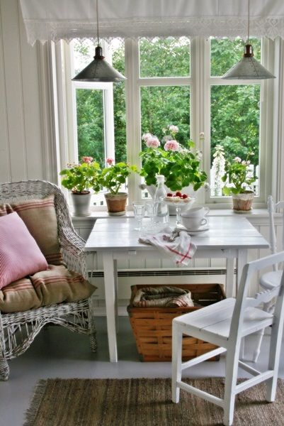 Charming cottage tour eclecticallyvintage.com  So much charm in such a small space!