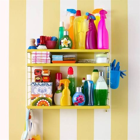 String shelf Pocket yellow