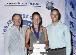 Charlotte Robillard-Millette honorée | Tennis Québec