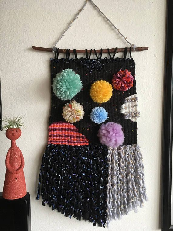 Space Weaving Woven Wall Hanging