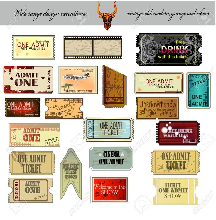786 best Birthday theme ideas images on Pinterest Decorative - free ticket maker
