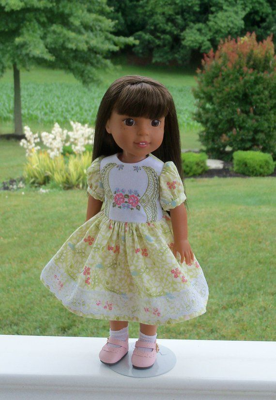 Sneakers Sized for American Girl Wellie Wisher 14.5 Inch Dolls