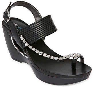 ANDREW GELLER Andrew Geller Arriana Womens Wedge Sandals wedge