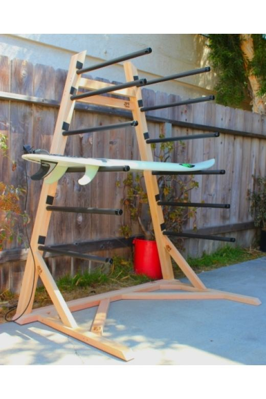 The Tower - Self-Standing Surfboard / SUP Rack