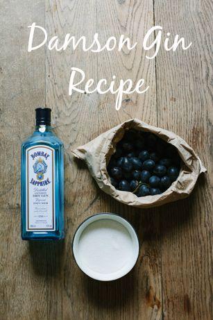 Damson Gin recipe