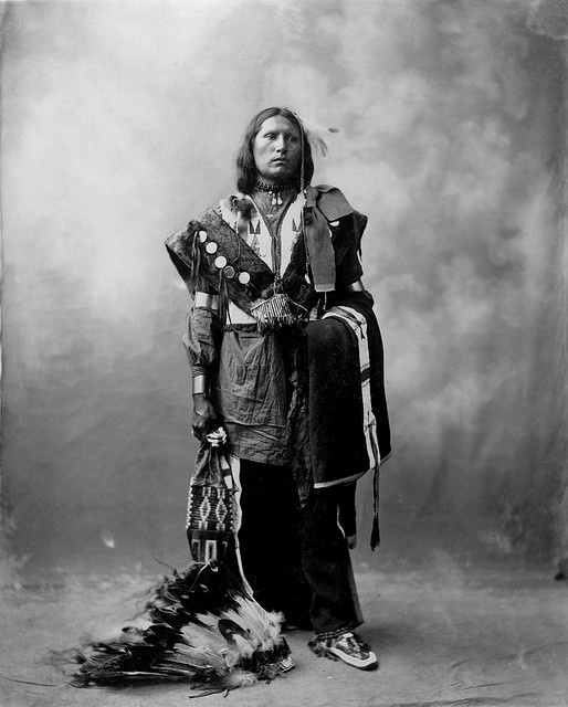 Thomas American Horse, Oglala Sioux, 1899 by Heyn Photo.