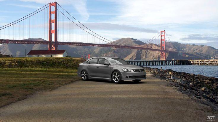 Qué tal les parece mi tuning #Volkswagen #Jetta 2011 en 3DTuning #3dtuning #tuning?