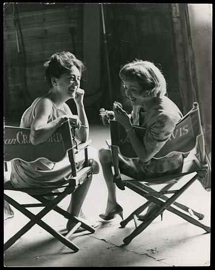 My all time favorite Joan Crawford & Bette Davis. Hope to share my love of old movies with my daughter Kate.