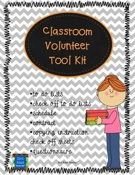 This is a sample from my planners which are coming in the next few weeks. These are all of the pages that you need to get your classroom volunteers off to a great start.