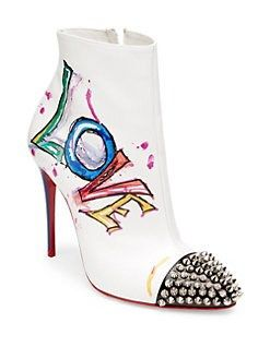 3992def92f1a Christian Louboutin - Love Is A Boot 100 Leather Booties