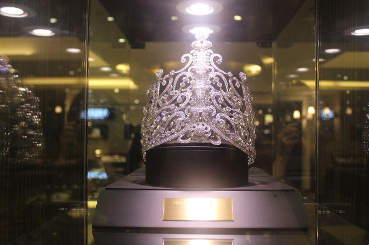 2014 미스 월드 코리아 왕관 Designed by VELUCE #missworld #korea #tiara #veluce