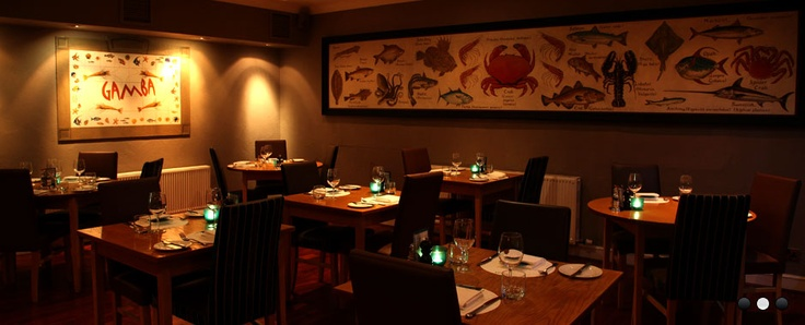 Gamba - Best fish restaurant in Scotland.