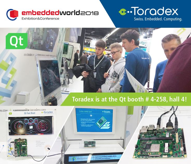 We're also at the #Qt booth (booth #4-258, Hall 4), come by for a look at some interesting demos and our latest products!