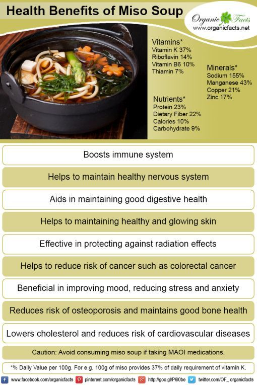 The Miso Soup Kills Cancer Cells and Improves Overall Health