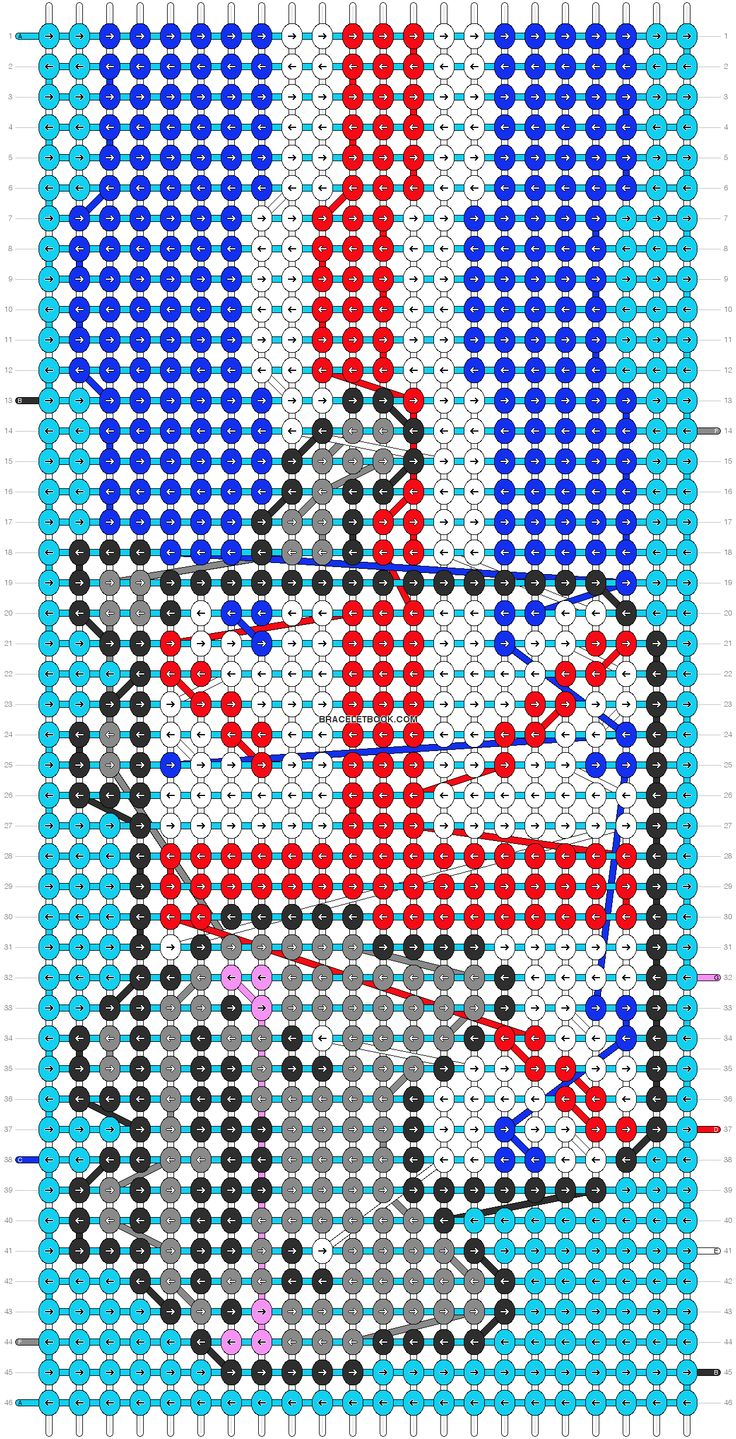 1084 Best Images About Friendship Bracelet Patterns On