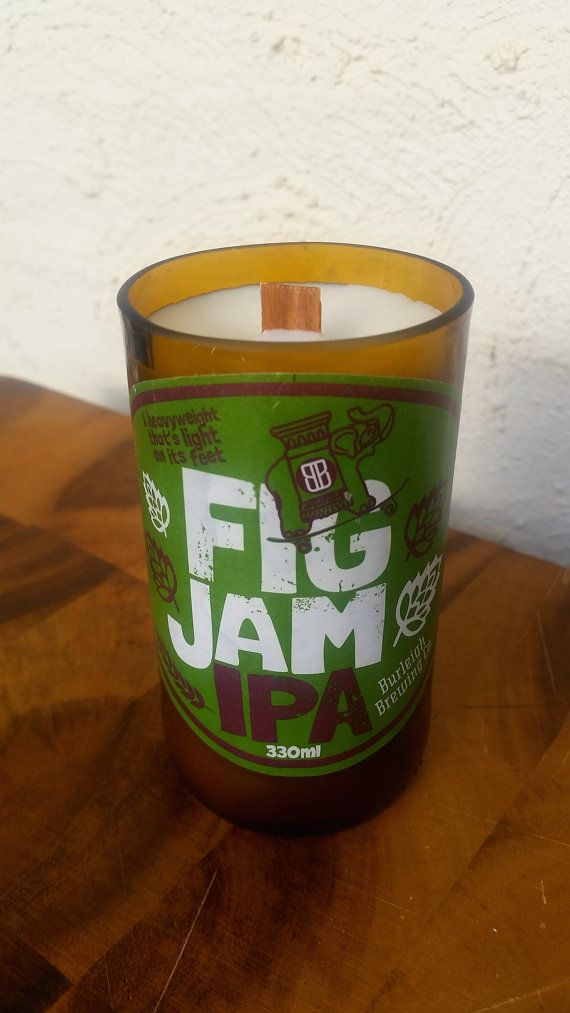 Hey, I found this really awesome Etsy listing at https://www.etsy.com/au/listing/270164158/figjam-ipa-bottle-soy-candle-with-wood