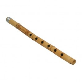 Kawla, Small Bamboo cane flute, decorated with geometric patterns. You blow across the open end the same way you would blow a Nay flute (or the way you blow across the mouth of a bottle to make it sound).