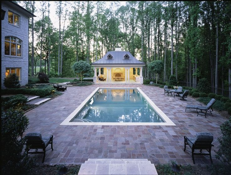 17 Best Images About Rectangle Pools On Pinterest Virginia Blue Granite And Pool Houses