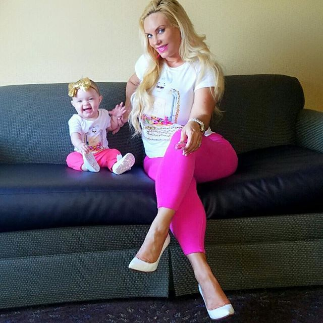 Pin for Later: Like Mother, Like Daughter: Coco Austin and Baby Chanel Give Twinning a Whole New Meaning