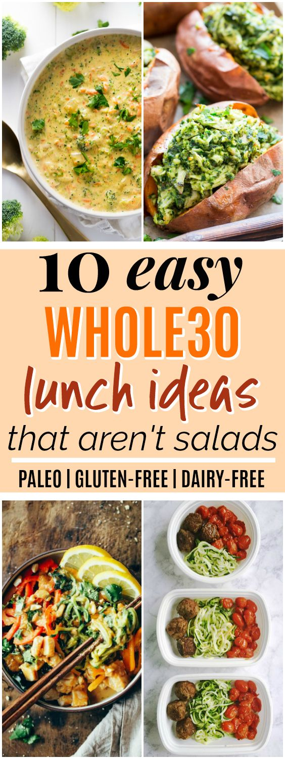 10 Easy Paleo Whole30 Lunch Ideas That Arent Salads