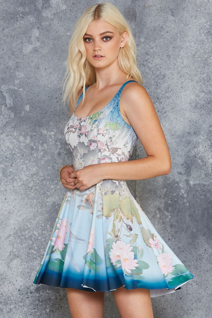 Don't Be Koi Evil Skater Dress - 7 DAY UNLIMITED ($85AUD) by BlackMilk Clothing